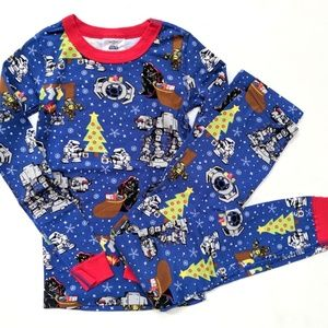 Hanna Andersson Star Wars Christmas Pajamas